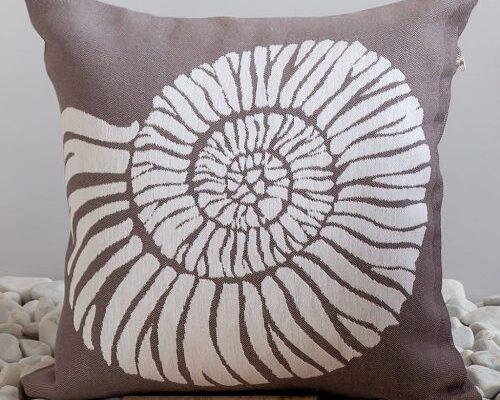 Чехол на подушку «Ракушка»