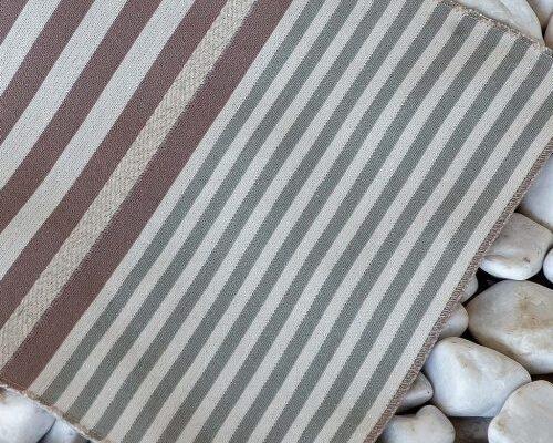 Комплект салфеток «Полоса льдистая»