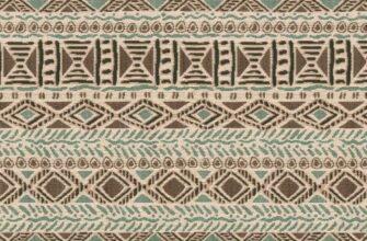 Ткань жаккардовая «Этника песочная»