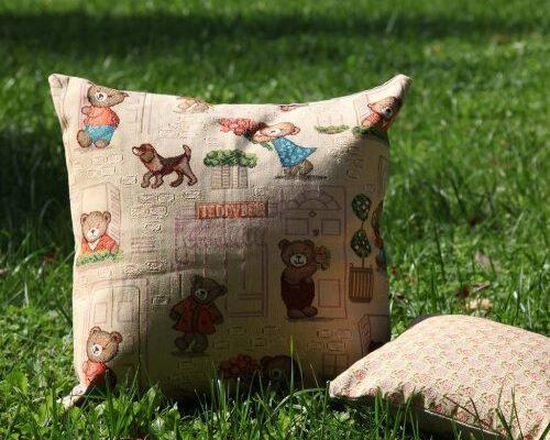 Чехол на подушку «Мишки Хэппи»