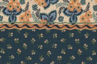 Ткань «Дижонские луга Полоса»