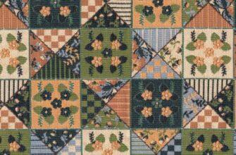 Ткань «Дижонские луга Лоскутная»