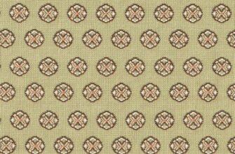 Ткань жаккардовая «Византийская вышивка»