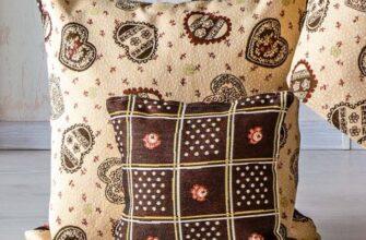 Чехол на подушку «Парижская Кухня»