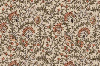 Ткань жаккардовая «Византийский цветок»