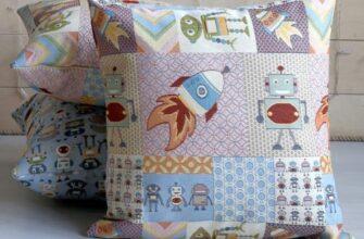 Чехол на подушку «Робот»