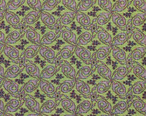 Ткань жаккардовая «Лаванда орнамент»