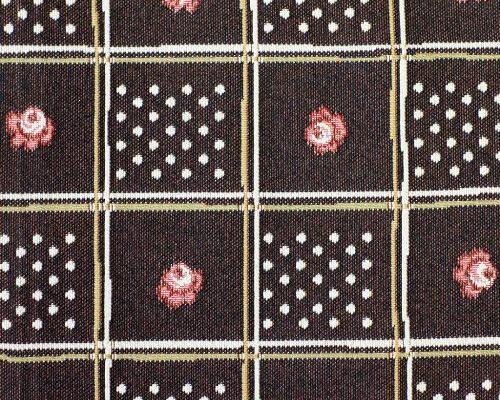 Ткань жаккардовая «Шоколадная плитка»
