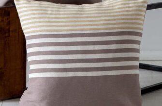 Чехол на подушку «Полоса Желтая»